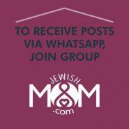New! Follow JewishMOM.com on WhatsApp