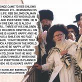 Reb Shlomo Zalman Auerbach's Happiness Recipe
