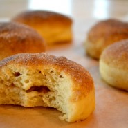 Apricot-Plum Baked Doughnuts by Melinda Strauss