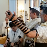 Father Seriously Injured in Gaza Operation Miraculously Recovers in time for Son's Bar MItzvah