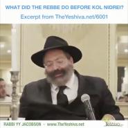 The Mother's Letter the Rebbe Read Before Kol Nidrei