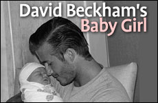David Beckham's Baby Girl by Jeff Jacoby