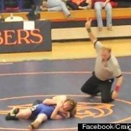 Middle School Wrestler Lets Boy with Cerebral Palsy Win Match (1-Minute Inspirational Video)