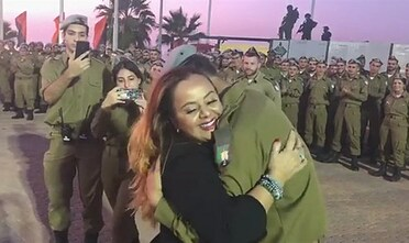Mother Surprises Soldier Son (45-Second Moving Video)