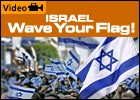 Israel, Wave your Flag (2-Minute Inspirational Video)