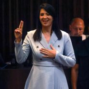 1st Time in History, New Knesset Member Shirli Pinto Kadosh Sworn In Today Using Sign Language