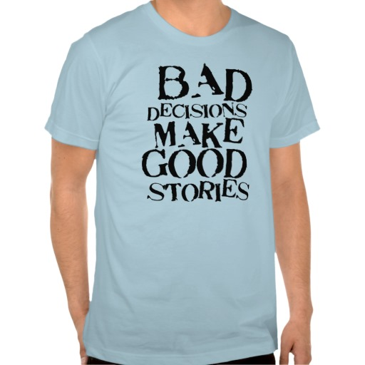 A t-shirt I saw this week that made me smile:)