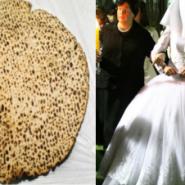 The Wedding Made by a Matzah in Bergen Belsen
