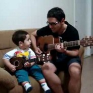"""2-Year-Old Sings """"Hey Jude"""" with Dad (1-Minute Adorable Video)"""