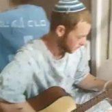 """Injured Brother of Rina HY""""D Plays """"Afilu b'Hastara"""" (1-Minute Video)"""