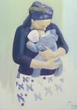 How are Mothers Like Hashem? (5 Art-of-Motherhood Photos)