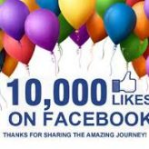 10,000 Facebook Fans, My 2 Huge Thank Yous!