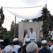 Under the Chuppah of 2 Orphans of Terror
