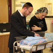 "New Gross Baby Named Yehonatan Eliezer in Honor of Sisters A""H"