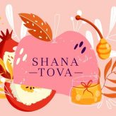 With blessings for a sweet year! 🍎🍯