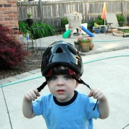 The Toddler in a Helmet