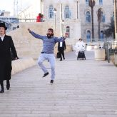 Dancing Behind People in Jerusalem (1-Minute Funny Video)