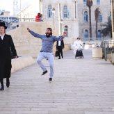 Dancing Behind People in Jerusalem (1-Minute Funny Video)