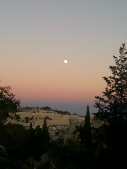 moon mount of olives