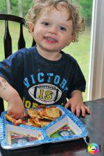 Cute Jewish Child + Corn Chips = ?