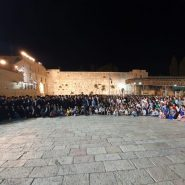 Revenge on Hitler: Mrs. Ovitz Celebrates 104th B-Day With 100s of Descendants at Kotel