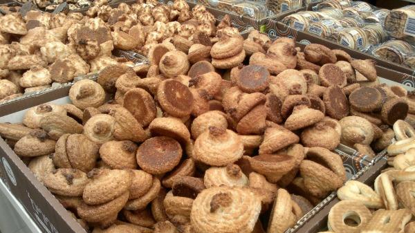 Peanut macaroons. Ashkenazim can enjoy these yummy kitniyot-based treats before Pesach.