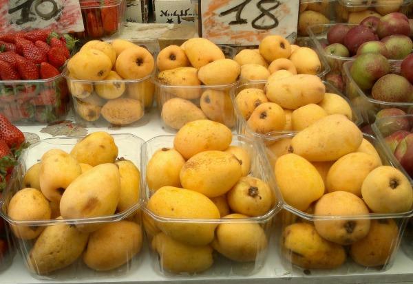 Loads of shechechiynu fruits for seder night, like Shesek! So yum!