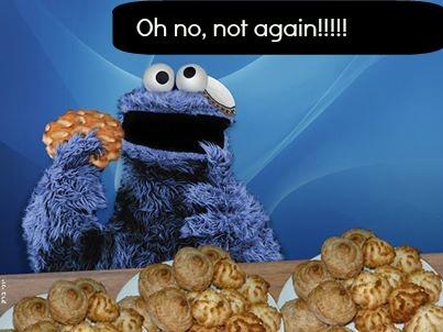 purim cookie monster