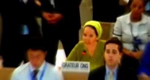 Racheli Frankel Addresses the UN (2-Minute Important Video)