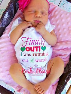 running out of womb