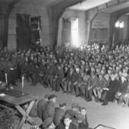 """Rabbi Herschel Schacter z""""l: Savior of Buchenwald's Orphans"""
