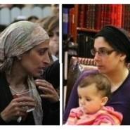 Eva Sandler visits Shiva of Fellow Widow, Avivit She'ar
