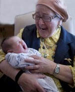 The Ultimate Revenge: Photographs of Holocaust Survivors with their Grandchildren
