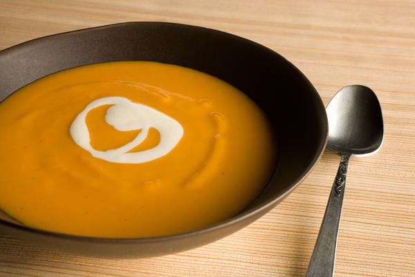 Sweet Potato/Zucchini/Carrot Soup by Sarah Chapman