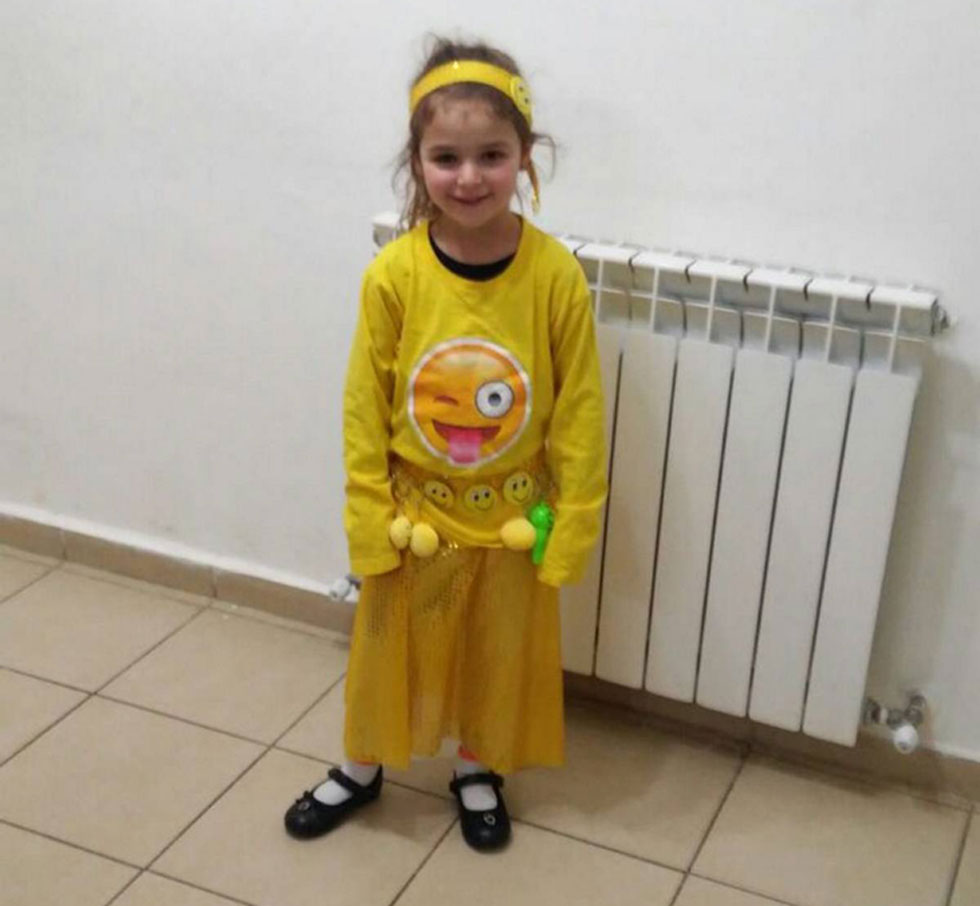 6-year-old Aviya Litman is the daughter and sister of  Yaakov and Natanel Litman, murdered in a terror attack 4 months ago