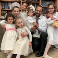 Another Mazal Tov for the Impossible Shidduch: 5 Girls and Now a Boy!
